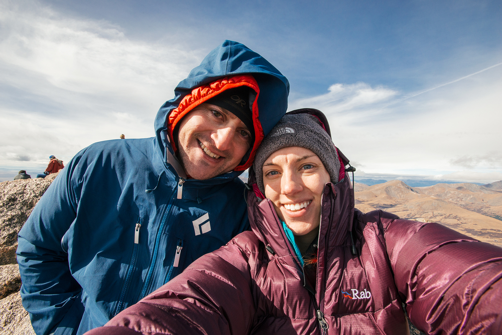 Summit Of Mount Bierstadt