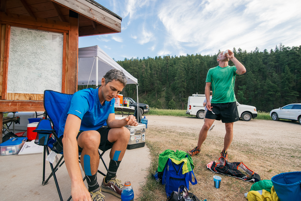 Black Hills 100 Ultra Marathon Aid Station