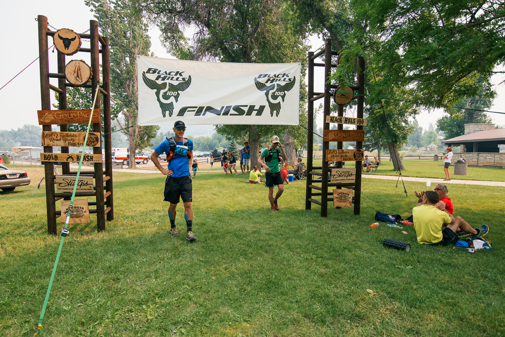 Black Hills 100 Finish