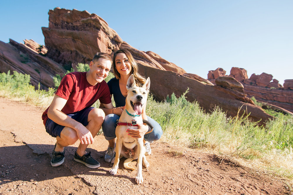 Portrait Photography in Red Rock Canyon Open Space