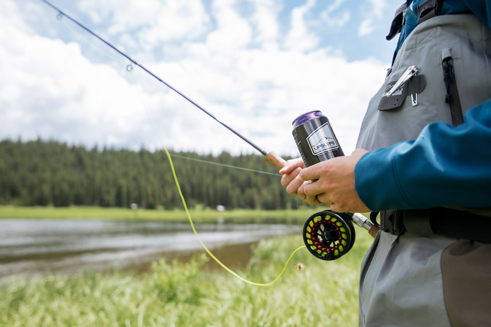 Upslope Beer + Fly Fishing