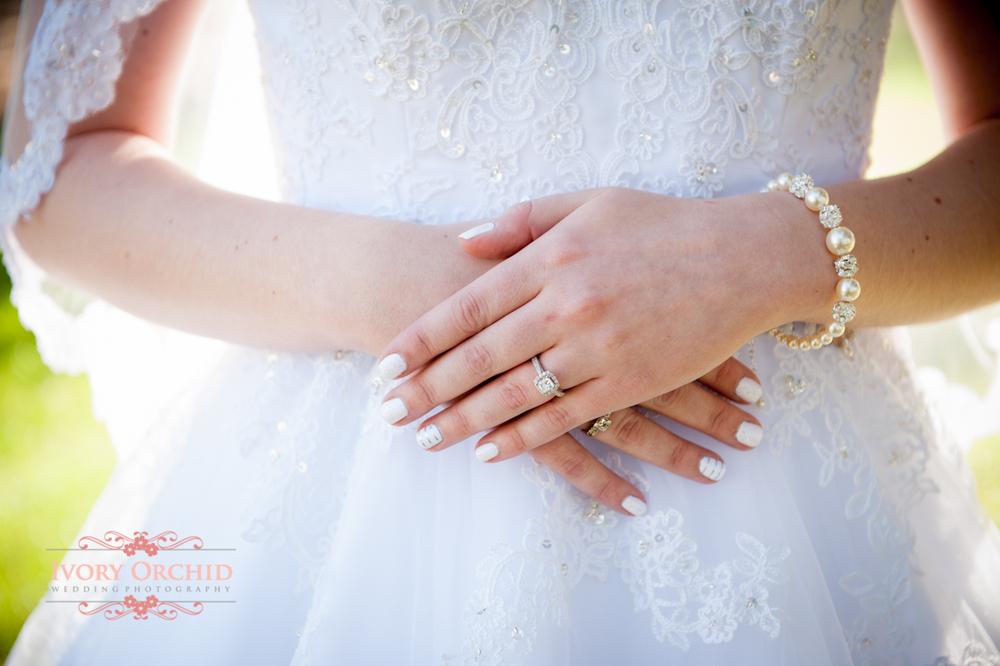 Photo of wedding hands