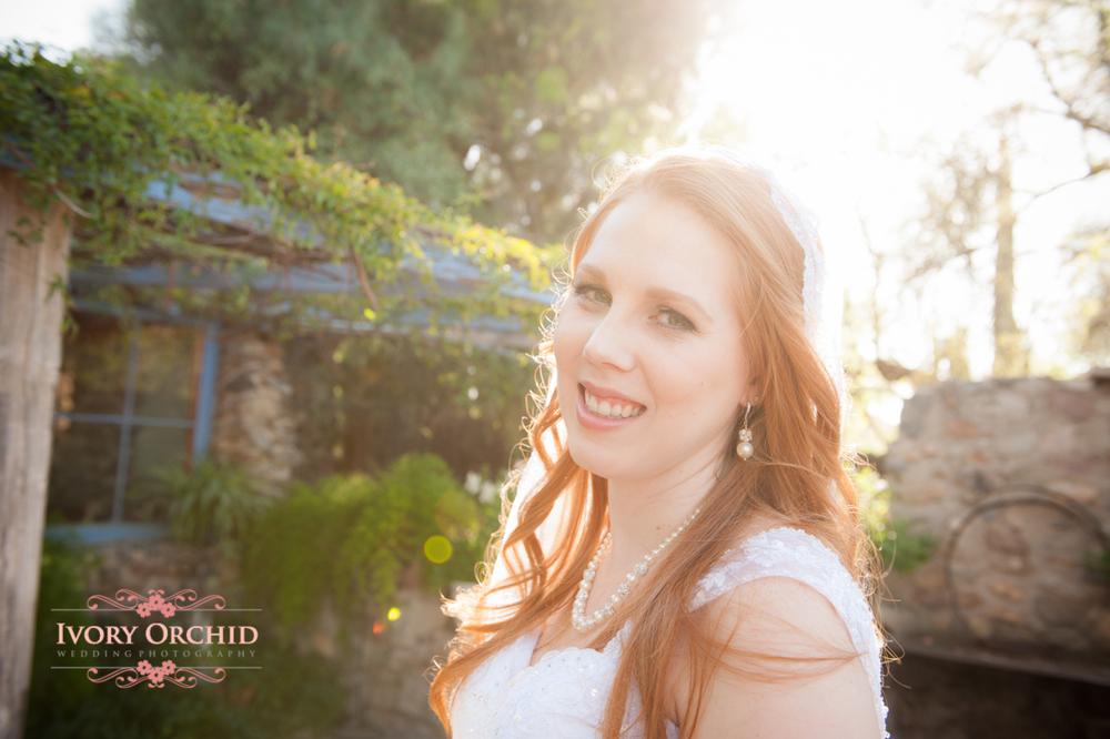 soft light bridal portrait