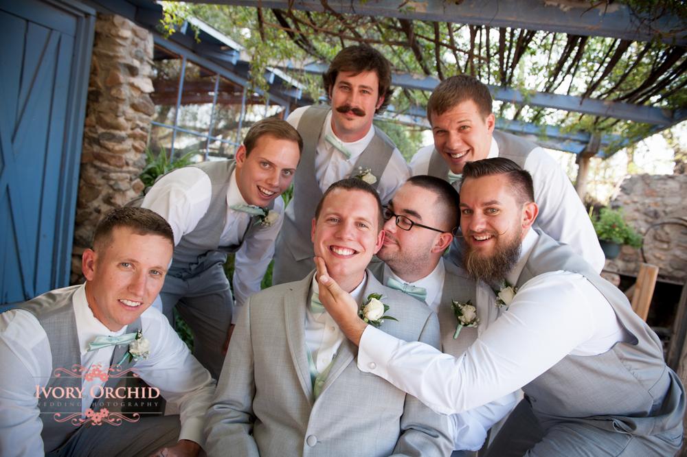 groomsmen silly