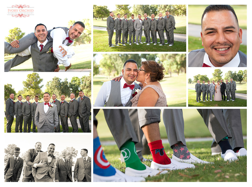 Groom photos at Randolph Golf Course Tucson