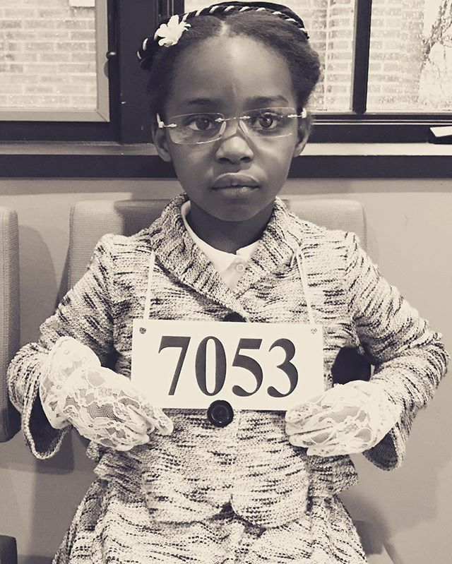 Nah. -Rosa Parks  when you just want to dress up like your hero but your mom is extra 😂😂😂 #stuartcountrydayschool #womenweadmireday #RosaParks