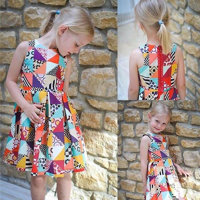 #❤️mingoandgrace #blakedress de #mingoandgrace. #jecoudspourmafille #sewingpattern #sewing #pdfpattern : @bysawadee