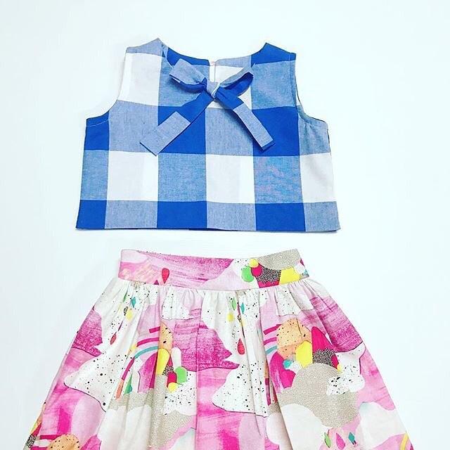 #❤️mingoandgrace #laurablythmanfabric#mingoandgrace #GiGi #madeingtown #kidsfashion : @vintagebubbles