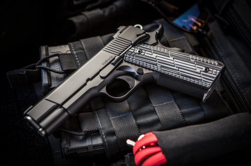 Dan Wesson 1911 Valkyrie (.45ACP) - Photo by Pillar Media Group http://cz-usa.com/product/dan-wesson-valkyrie/