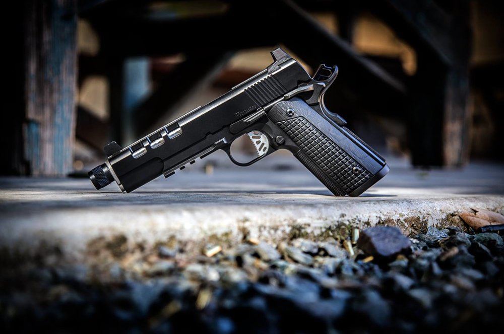 Dan Wesson 1911 Discretion (9mm) - Photo by Pillar Media Group http://cz-usa.com/product/dw-discretion/