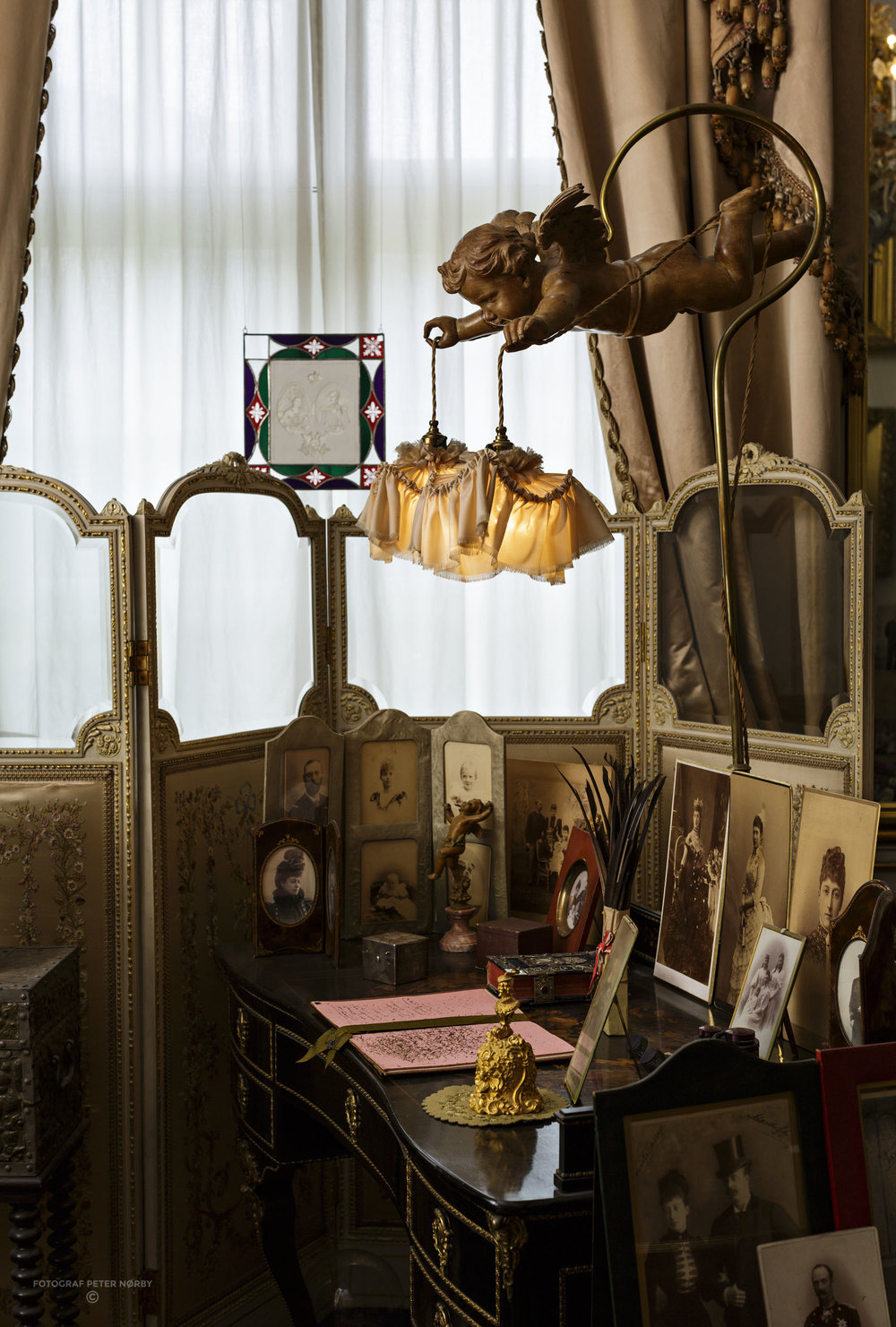 Queen Louise's salon
