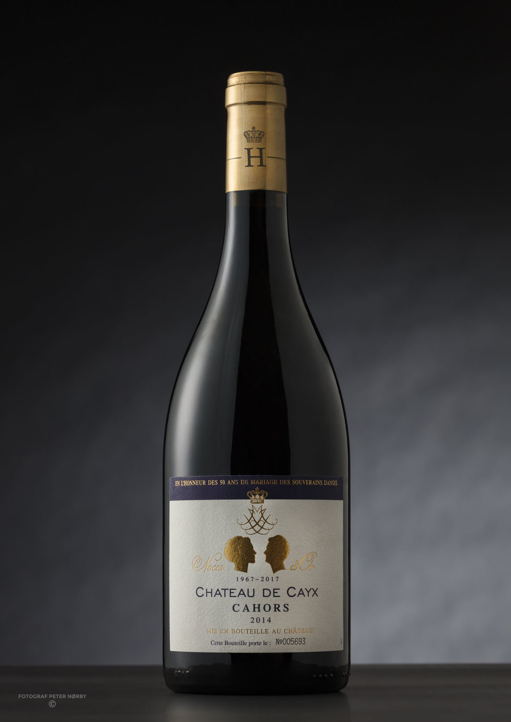 Chateau De Cayx served at the 50th wedding anniversary in 2017