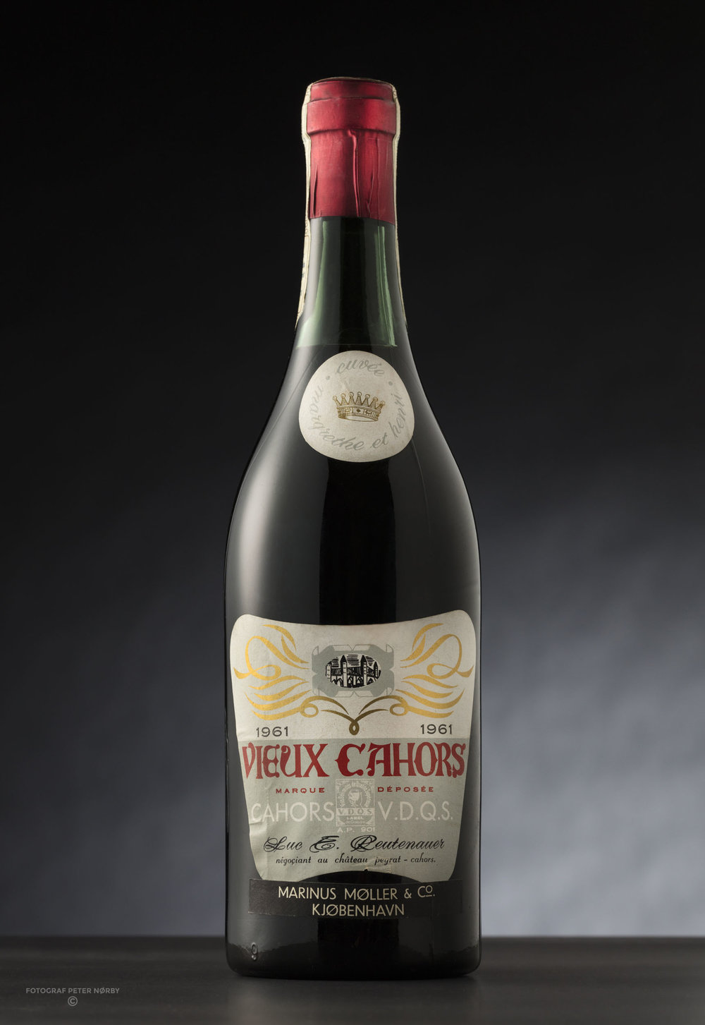 Vieux Cahors served at the wedding of HM The Queen and HRH The Prince Consort in 1961