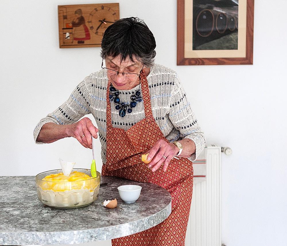 Grand-mère, cuisine-moi un souvenir