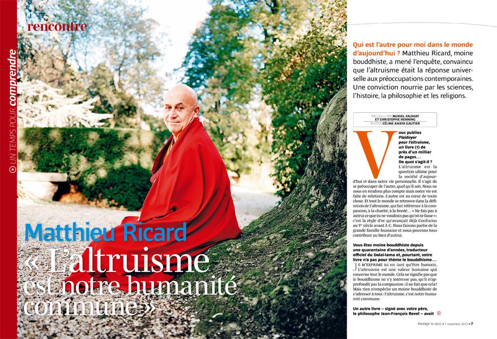 Rencontre Pèlerin Magazine