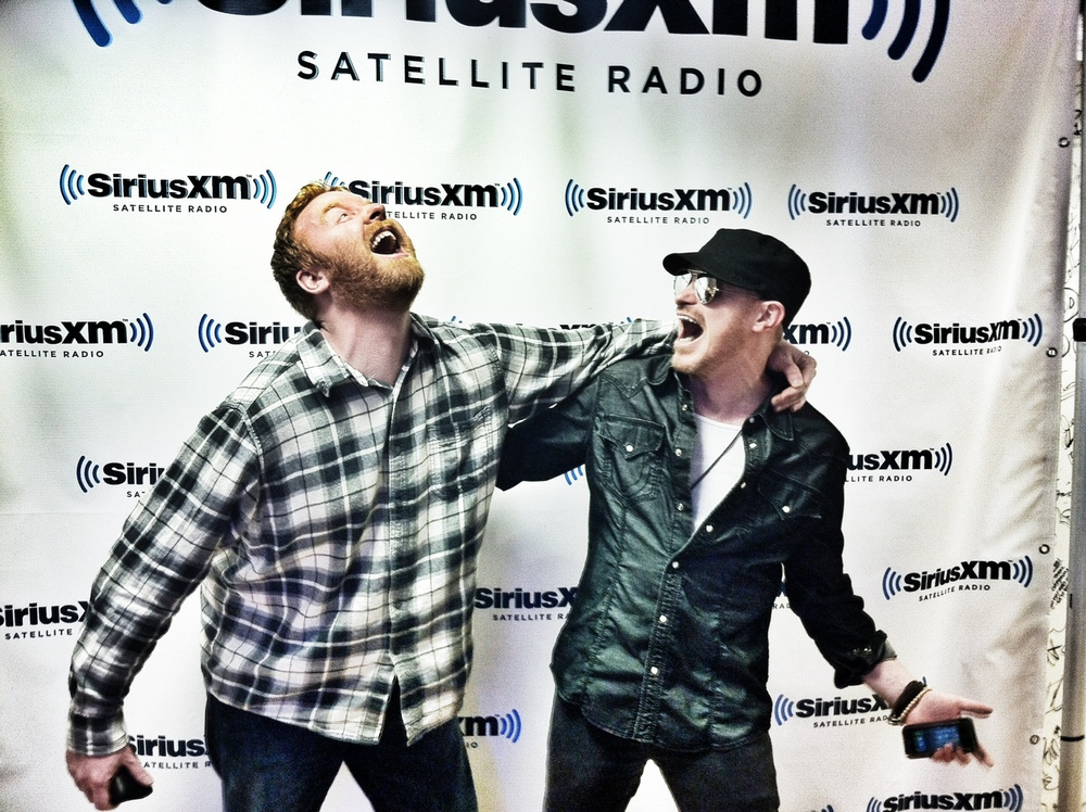 East Side Dave McDonald and Roy Shaffer at SiriusXM.