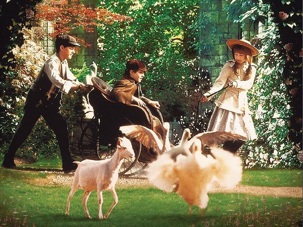 Delightful Family Film Event Announced The Secret Garden (1993, Rated G) Amazing Design