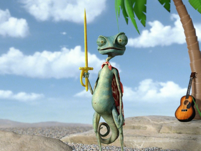 Voice Of Beans - Rango | Behind The Voice Actors