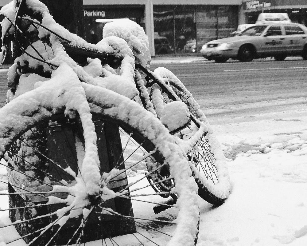 Snow Bike...