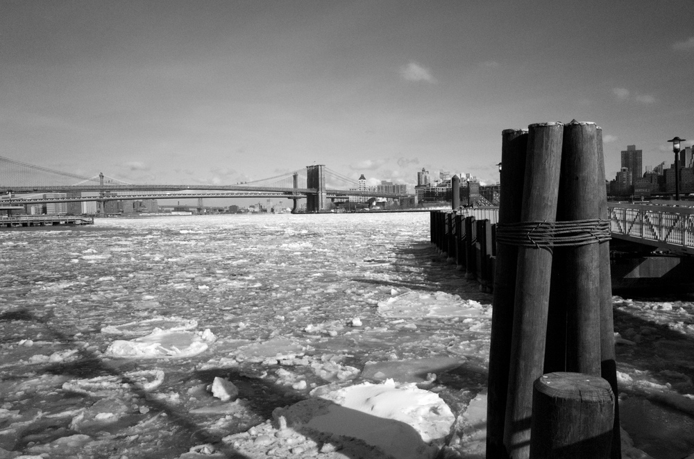 East River, NYC / winter 2015