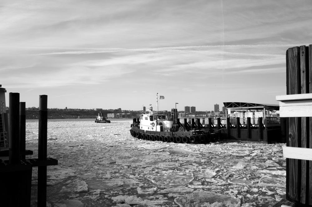 Hudson River, NYC / winter 2015