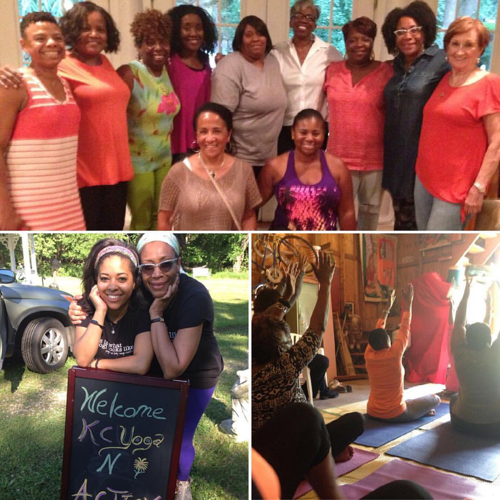 Yoga in Action - Kansas City, MO (2016), led by Celestine & Amanda Muhammad