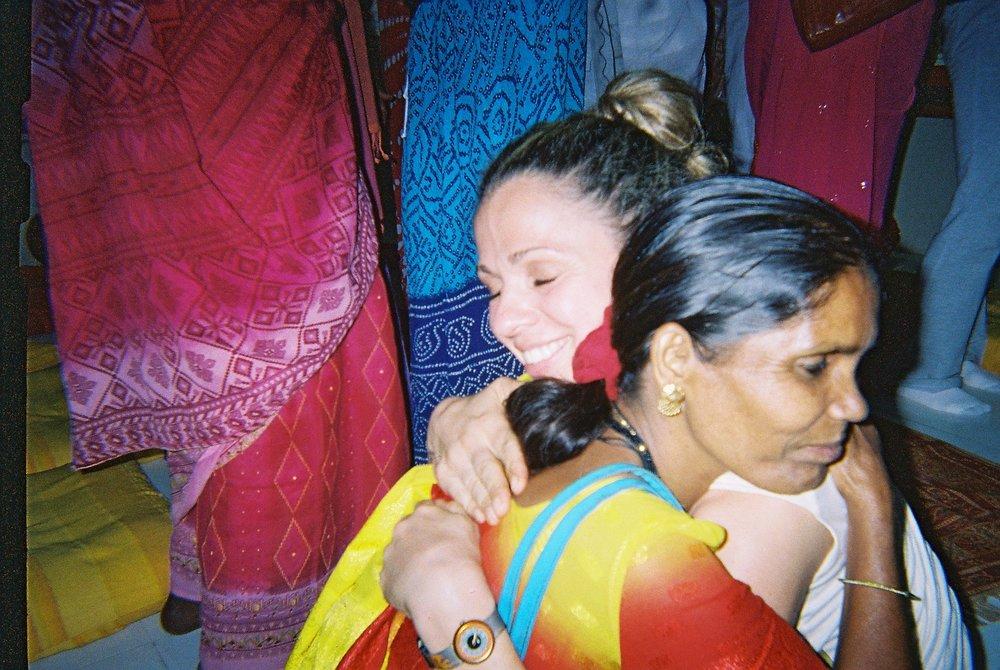 SC hugs woman.JPG