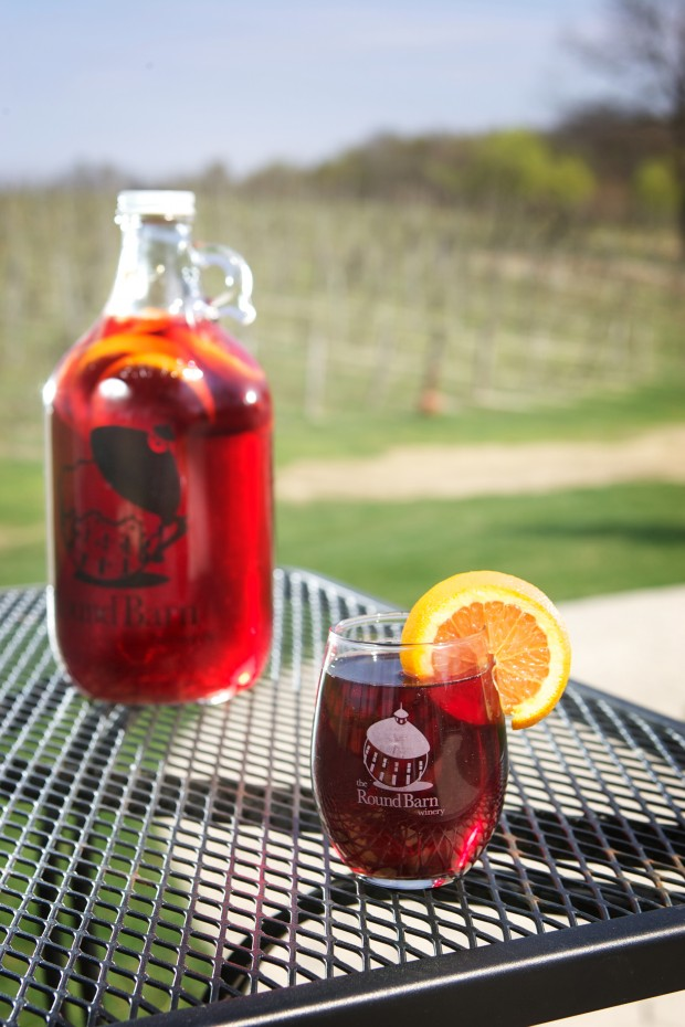 Round Barn Winery Sangria