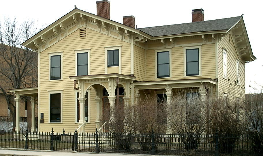 Historic Hixon House - Built in 1859 by prominent lumbar baron, Gideon Hixon. Italianate structure with nearly all of its original furnishings. A gem of La Crosse to be sure.