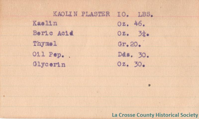 Kaolin Plaster