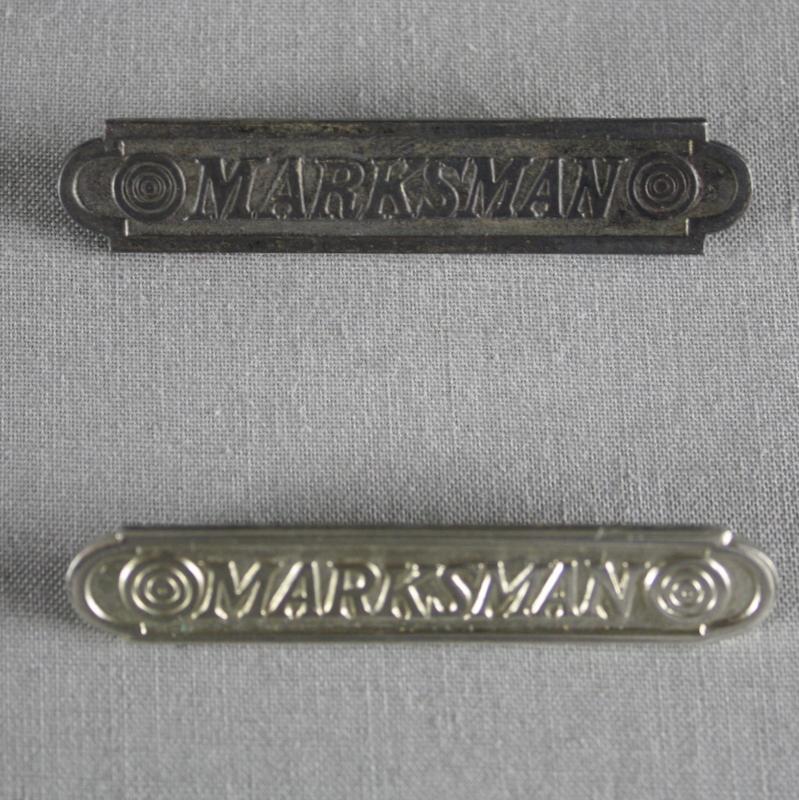 Marine Corps Marksman Pin.