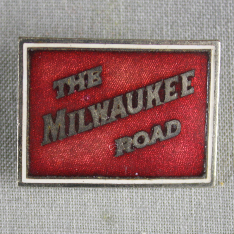 Milwaukee Railroad Pin.