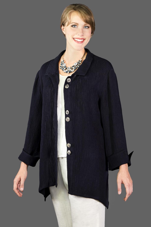 AA132 - Susan's Jacket    TX11 - Textured Black