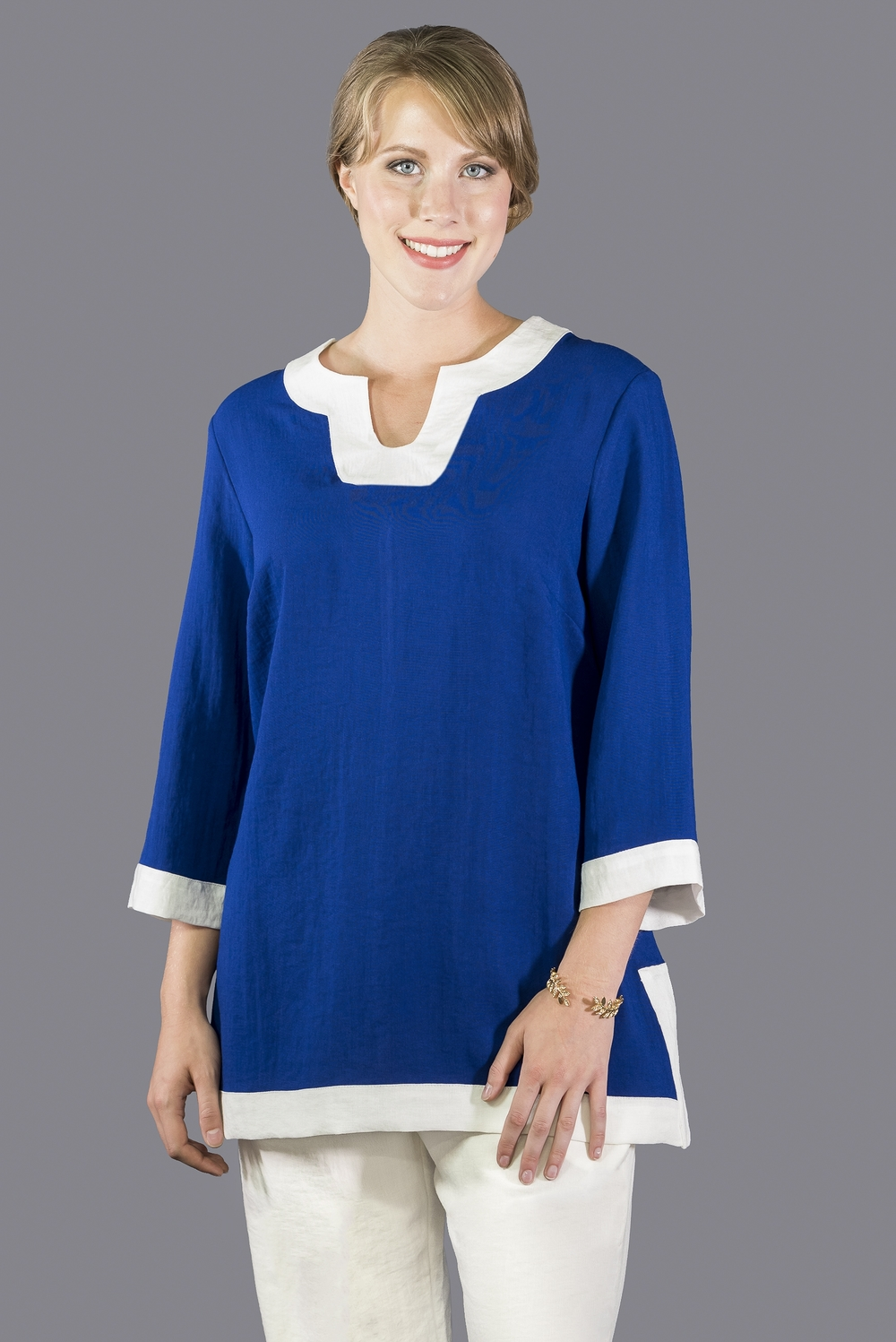 AA174 - Bella Tunic    CL3096 - Midnight