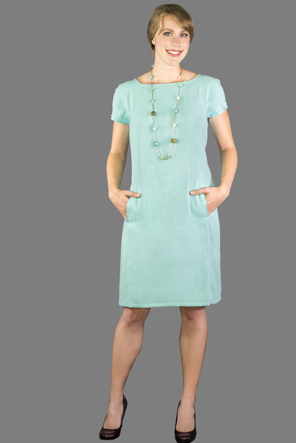 AAD199 - Cap Sleeve Dress    CL3983 - Spa