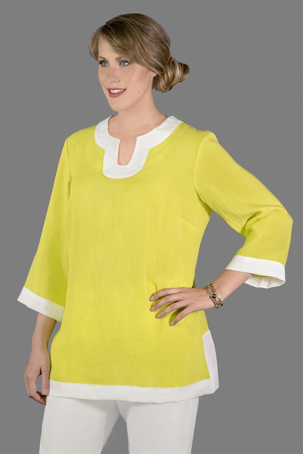 AA174 - Bella Tunic    CL2593 - Citron