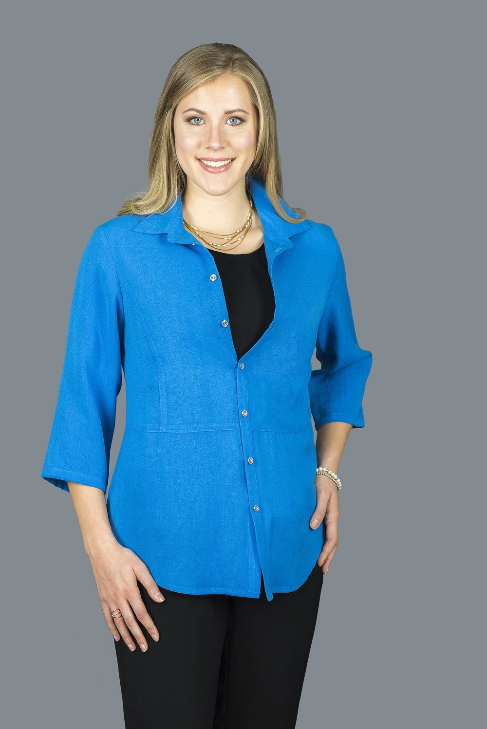AA207 - Shirt with Banded Back    CL3094 - Aruba