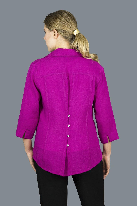 AA203 - Short Button Back Shirt    CL3552 - Magenta