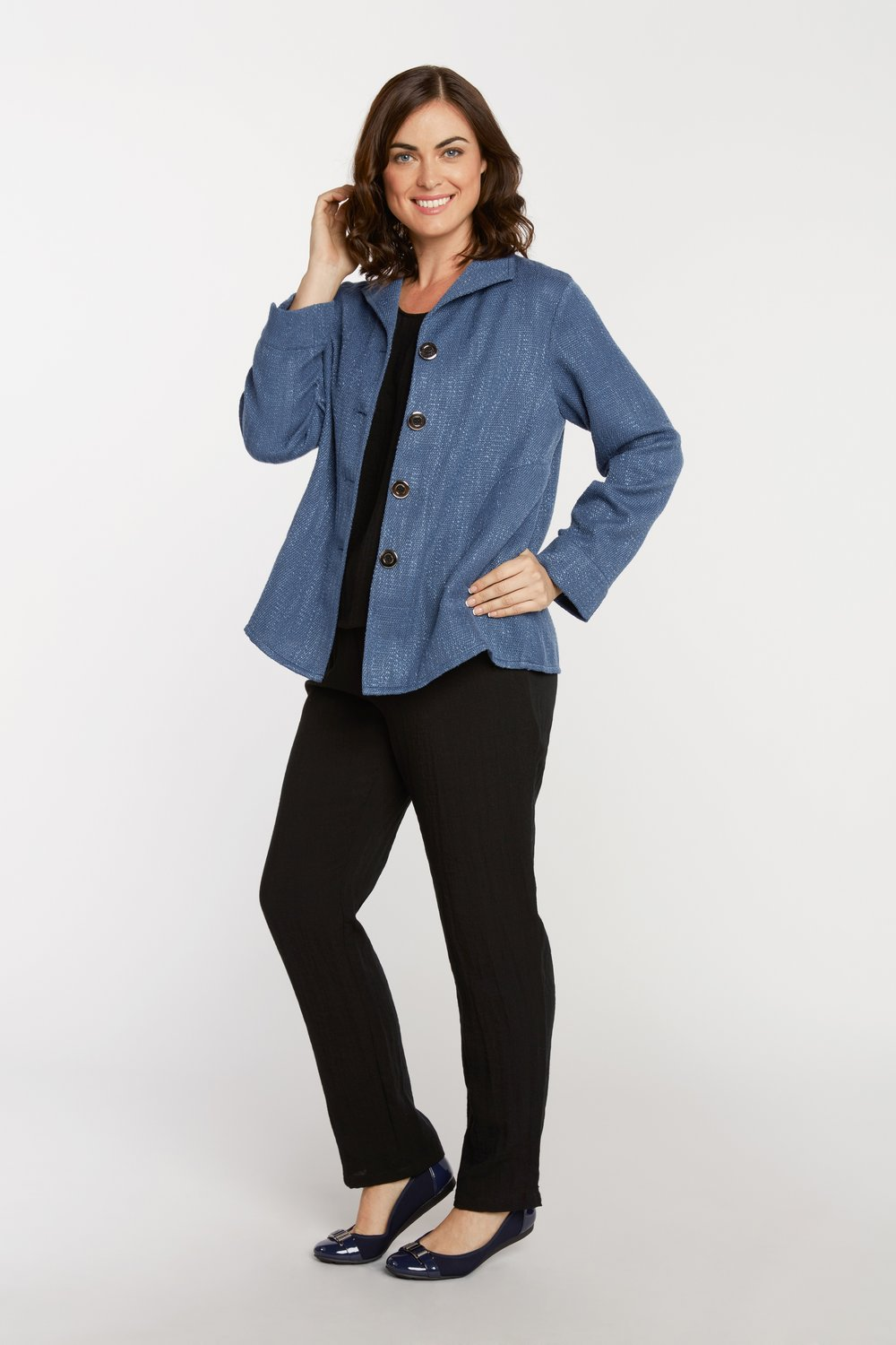 AA8002 - Grace Jacket    SG31 - French Blue