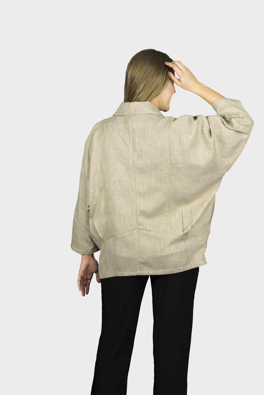 AA8004 - Boyfriend Jacket    SG12 - Wheat