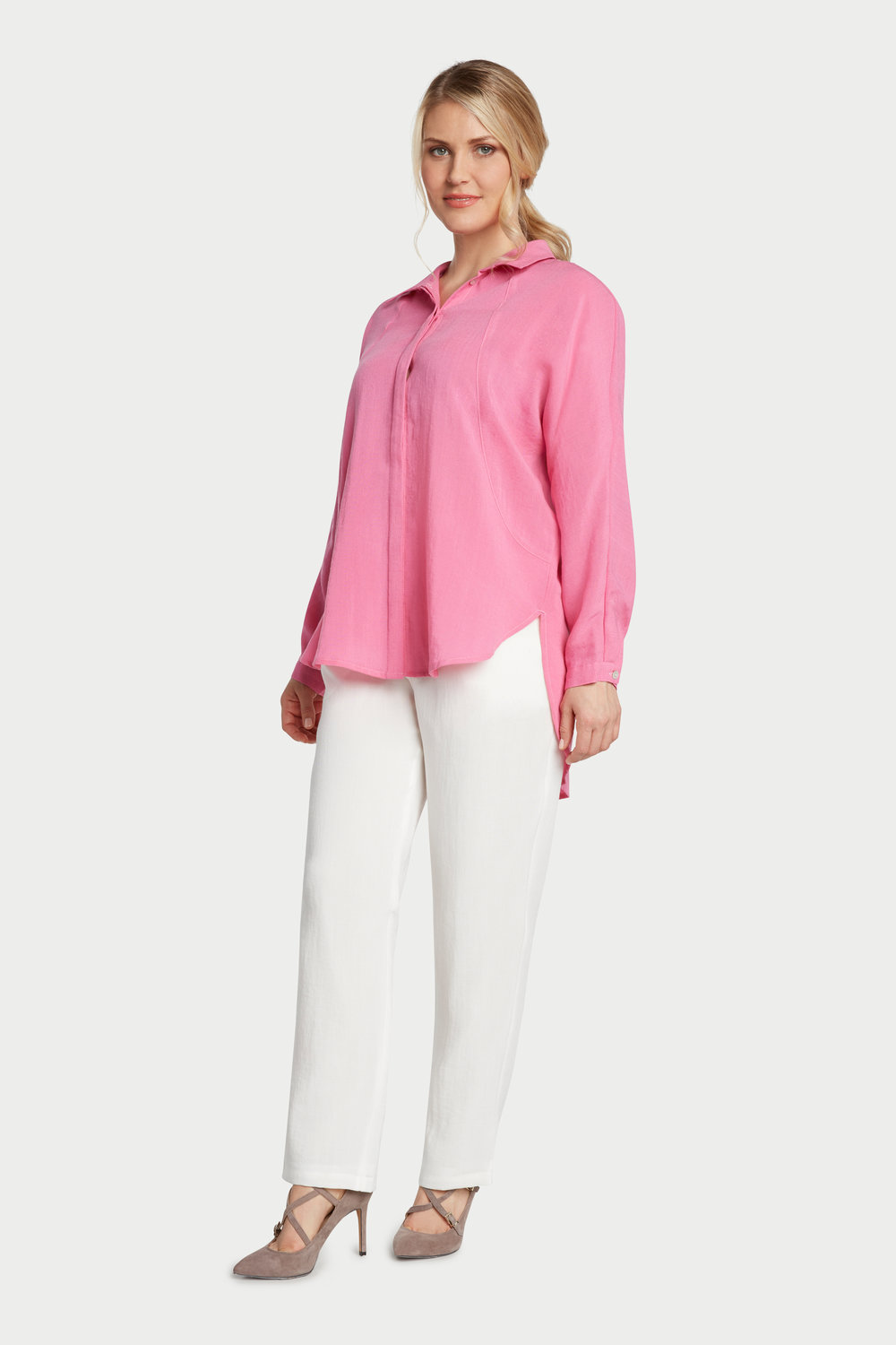 AA235 - Alice Dolman Shirt    Flamingo - CL4386
