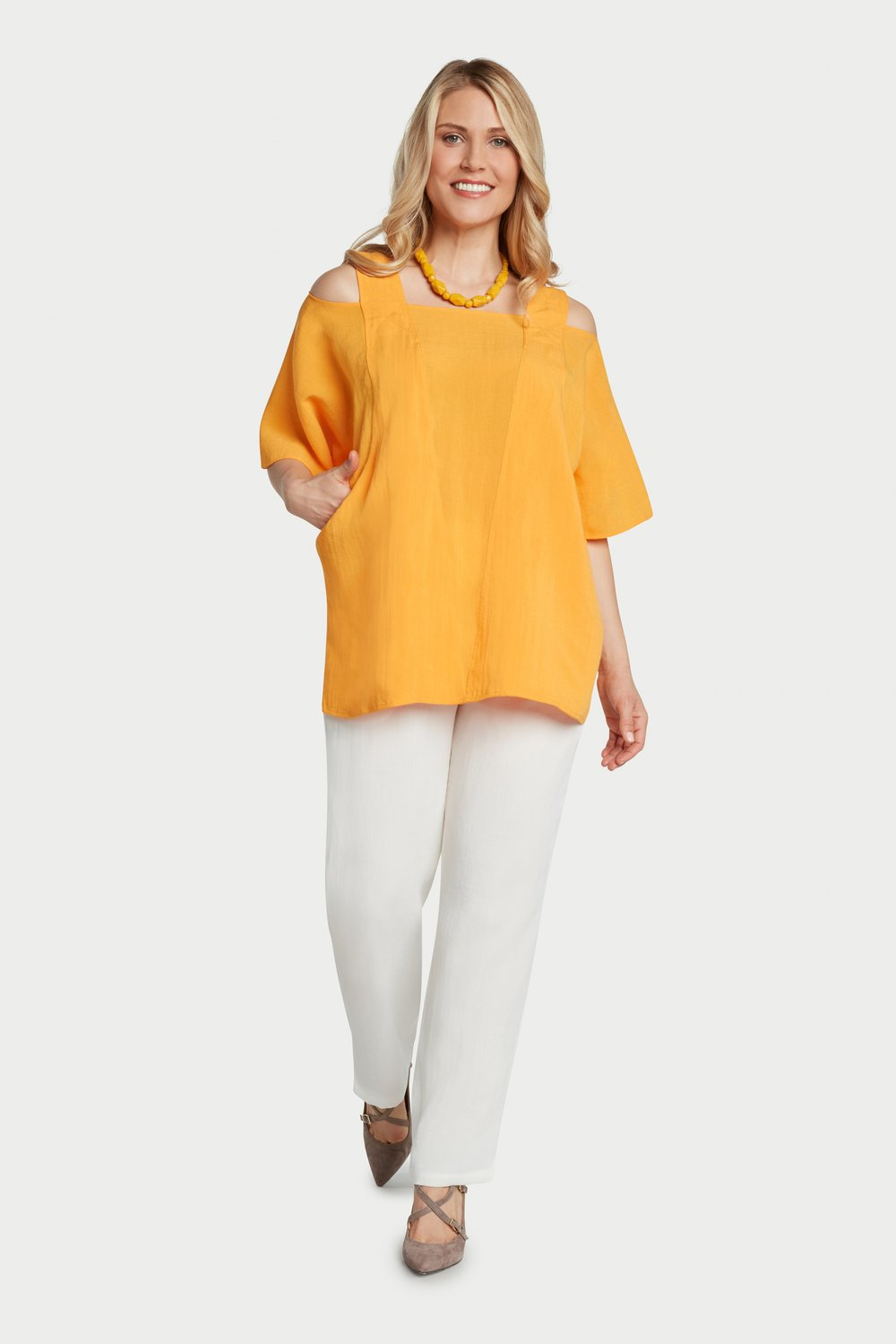 AA62 - Cold Shoulder Pullover    Mango - CL4921