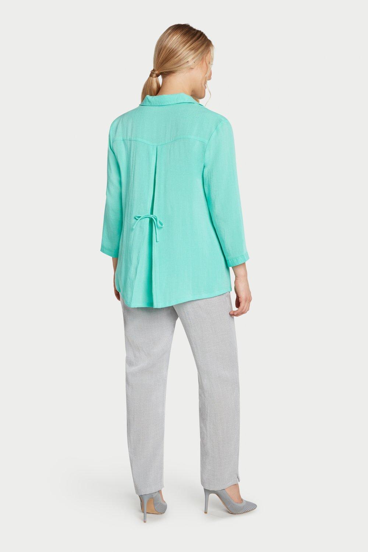 AA248 - Tie-Back Shirt    Fiji - CL4917