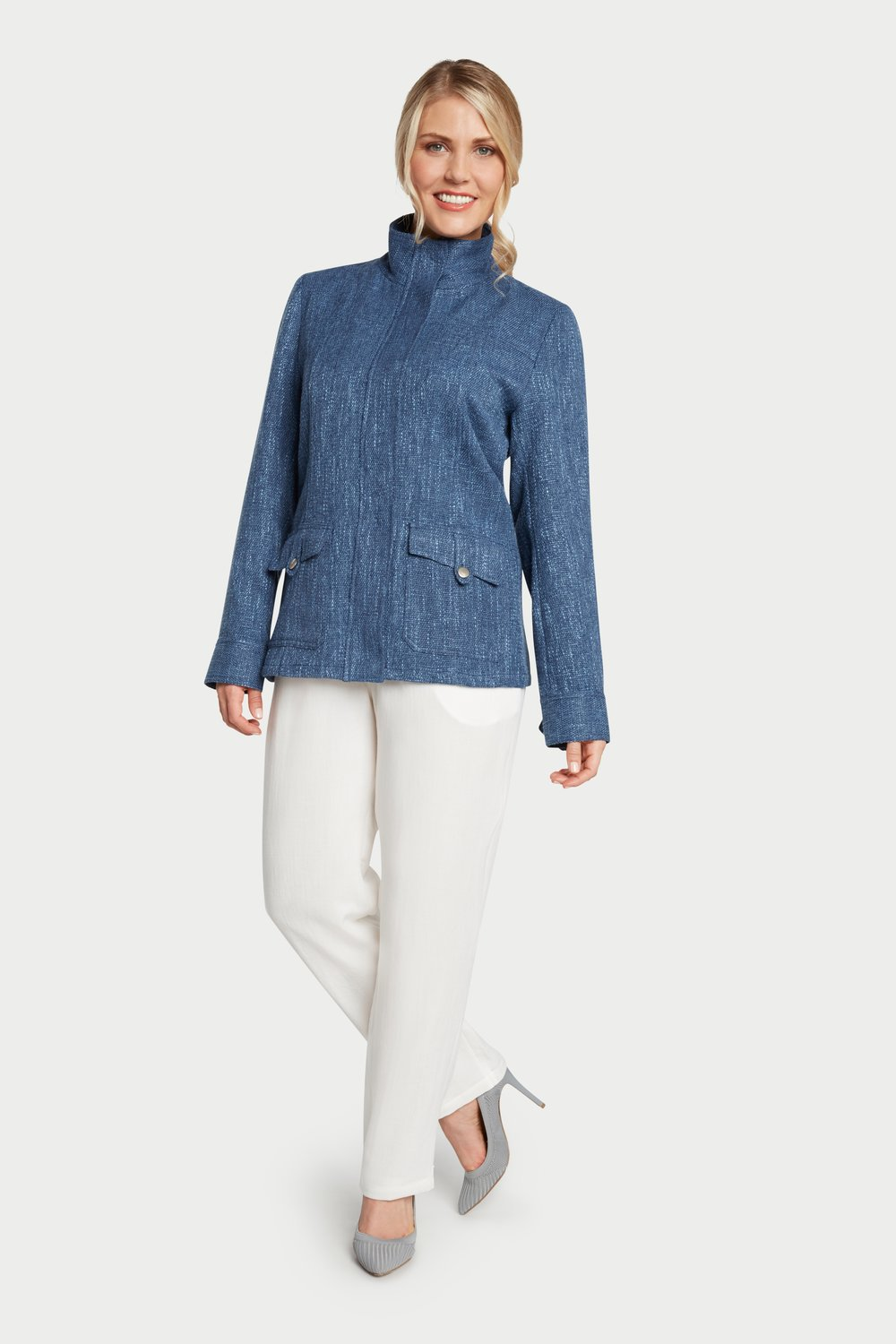 AA8009 - Donna Jacket    SG31 - French Blue
