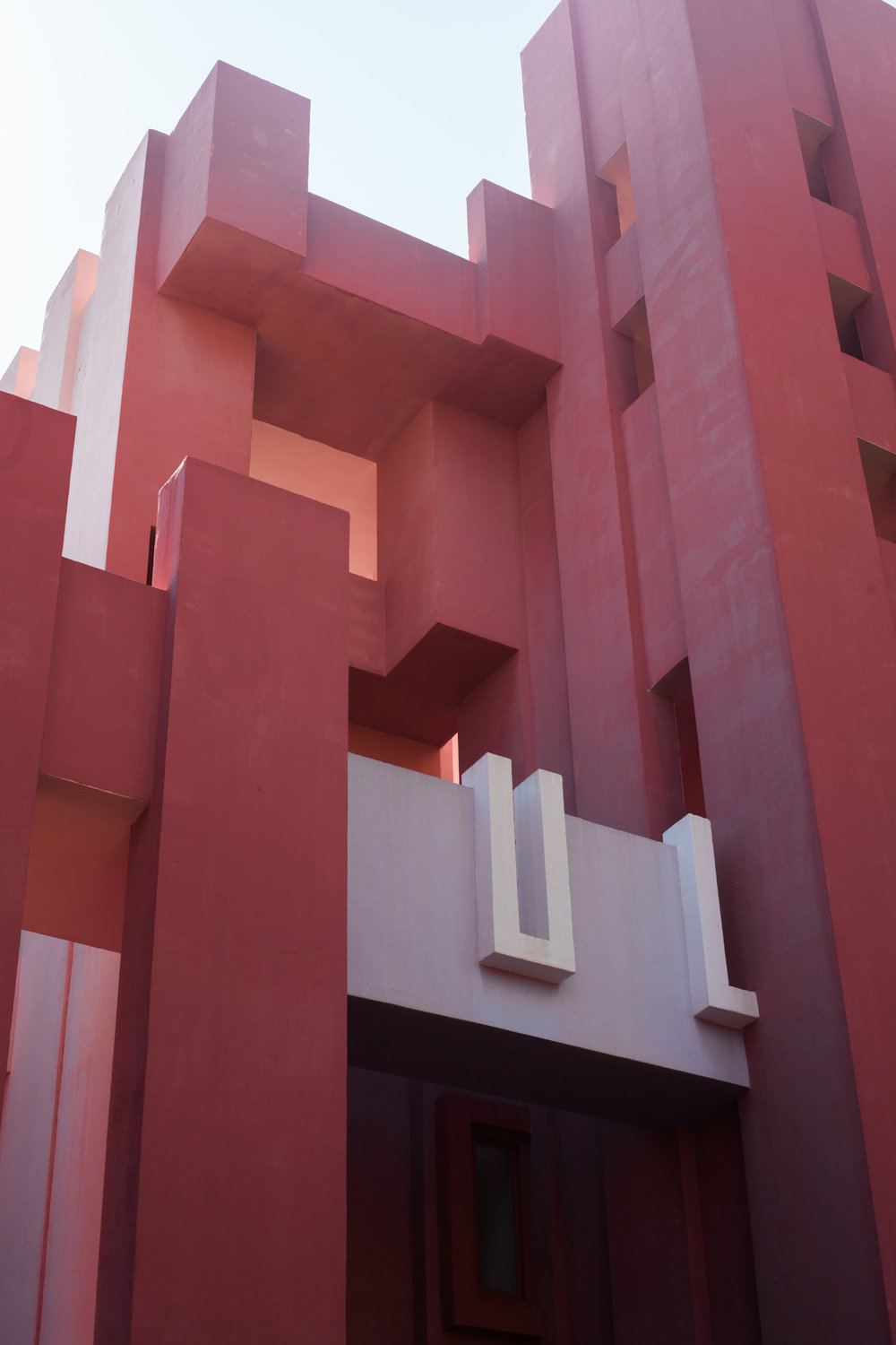 La Muralla Roja Ricardo Boffil by Workhouse Collective