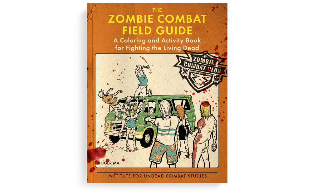 I pitched the idea for a Zombie Combat activity and coloring book, and got to design this hot little number. Please buy it when it drops in January.   Cover design, book concept + color. Berkley. 2015.