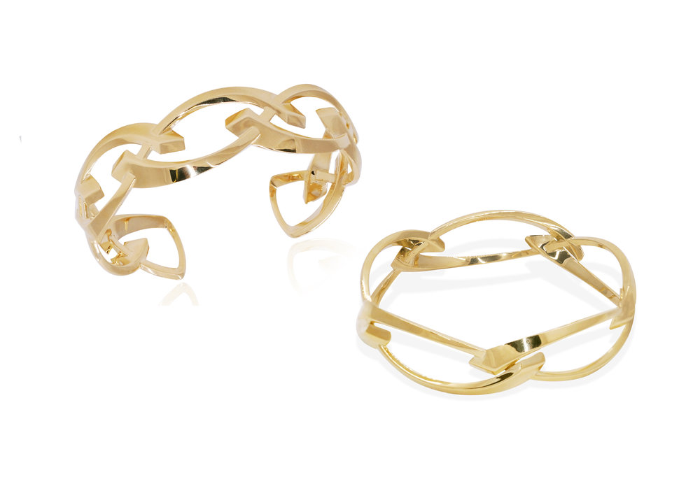 El Dorado  - Michael's innovative designs and imaginative concepts utilize a complex combination of platinum and gold. Each piece of arts is created with the highest degree of quality and craftsmanship, each one made in New York City
