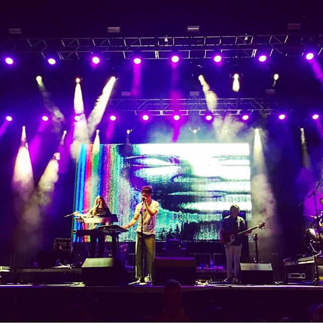 We make the #sickvisuals for @whoismgmt at @8035musicfest with #vj @austion3 #videodesign #systemdesign @amjcrawford #8035 #mgmt #sickvisual #vjing #livevisuals photo by @ethanellis28