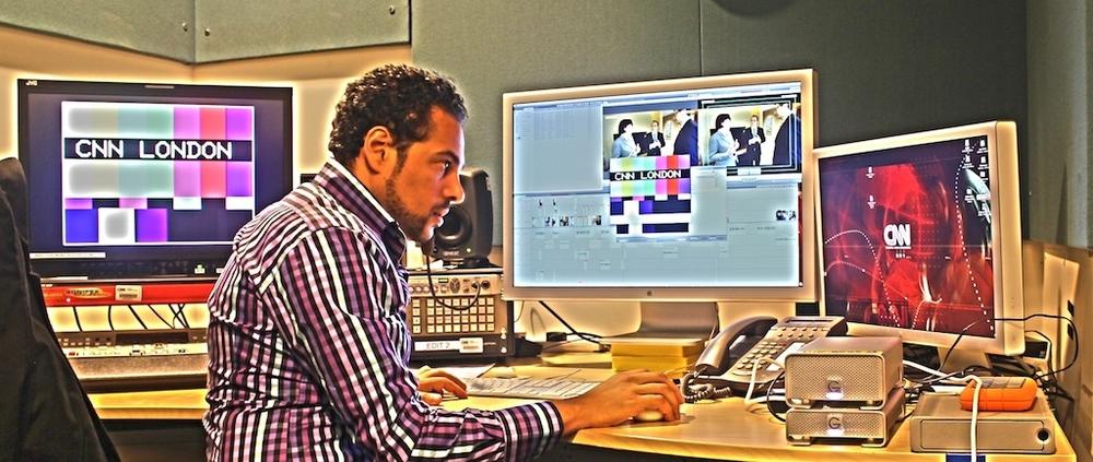 Edit Suite CNN International / London Bureau