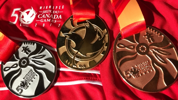 Our 11 athletes won 19 medals at the 2017 Canada Games -